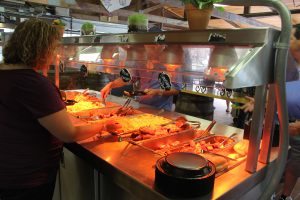 Our food is kept warm all day keeping food fresh and tasty!