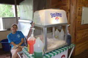Snow cone machine!