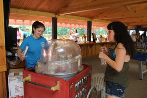 Cotton candy, popcorn and snow cones can be added to any event.