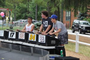 Micro car racing can be added to any event.