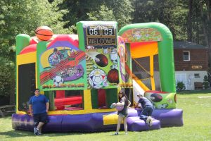 Add a moon bounce to any event and the kids will be jumping for joy!